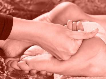 Ein gesunder Fuß
